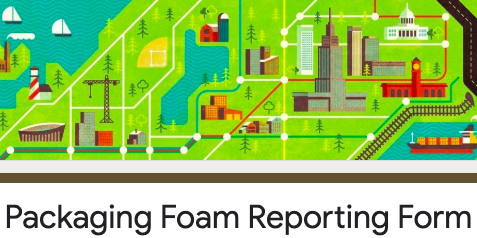 Packaging foam reporting form